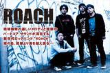 """琉球独特の優しいメロディと強靭な ハードコア・サウンドが混在する 新世代ロックバンド""""ROACH""""、 南の島、琉球より海を越え現る―"""