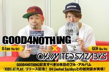 GOOD4NOTHING × 04 Limited Sazabys