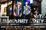 AYATOMO(MAYSON's PARTY)× 猪狩秀平(HEY-SMITH)