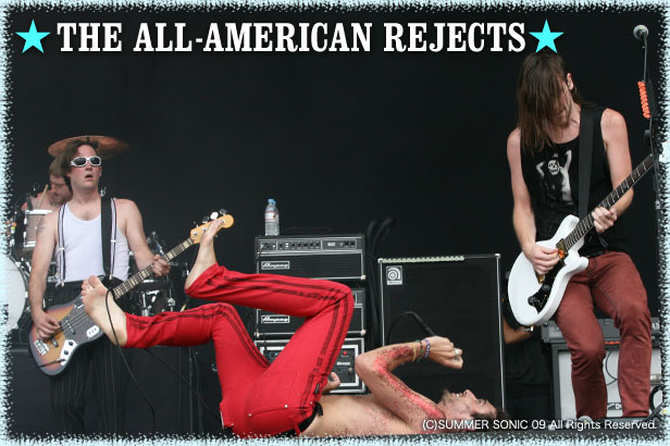 the all american rejects summer sonic 09 2009 08 08 千葉