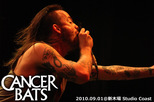 CANCER BATS | BULLET FOR MY VALENTINE Japan Tour 2010