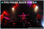 FIVE FINGER DEATH PUNCH|SUMMER SONIC 09