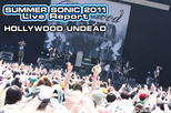HOLLYWOOD UNDEAD|SUMMER SONIC 2011