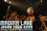 MADINA LAKE Japan Tour 2009