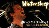 WINTERSLEEP Japan Tour 2008