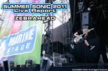 ZEBRAHEAD|SUMMER SONIC 2011