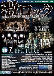 Crossfaith / WE CAME AS ROMANS / CRYSTAL LAKE / WHILE SHE SLEEPS