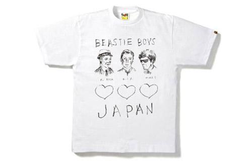BEASTIE BOYS x A BATHING APE® チャリティTシャツ発売決定!