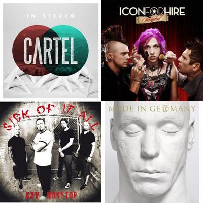 【今週の注目リリース】CARTEL、RAMMSTEIN、ICON FOR HIRE、SICK OF IT ALL、AA=、新作や豪華ベスト盤も