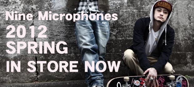 【PTP K氏プロデュース】Nine Microphones春の新作からネックレス&トップス一挙新入荷!毎回即完売です!今すぐチェックを!!