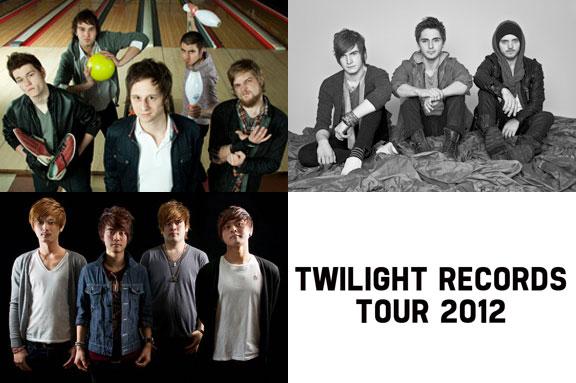 QUIETDRIVE、THE CAB、FIVE NEW OLDによるTWILIGHT RECORDS TOURツアーは10/18~20!チケット好評販売中!