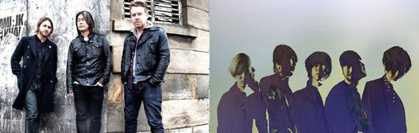 the HIATUS、FEEDERの最強カップリング・ツアーが決定!イギリスと日本の両雄がついに激突!