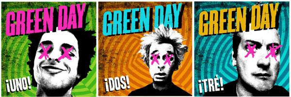 GREEN DAY、9/19(水)AM2時よりNOIZEにて『Uno!』の全曲ストリーミングを開始!さらに先日のNYでのライヴ映像を公開。
