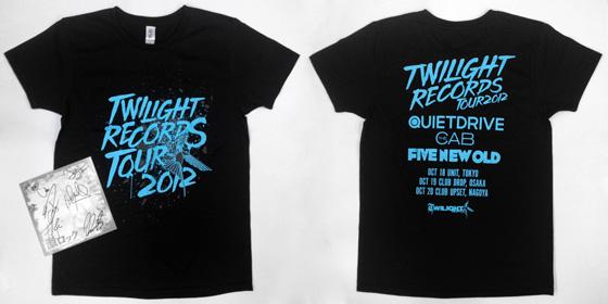 【フォロー&RTで応募完了!】QUIETDRIVE×THE CABのサイン色紙&ツアーTシャツをプレゼント!ライヴ・レポート&対談インタビューも公開中!