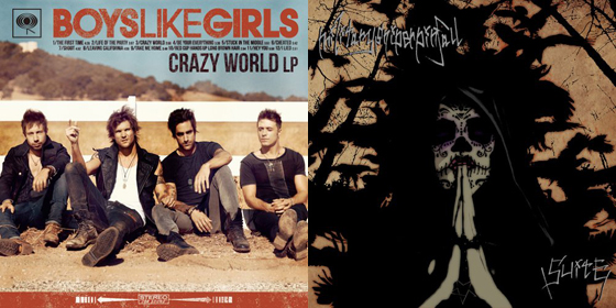 【明日の注目リリース】BOYS LIKE GIRLS、militarysniperpinfall!特集ページ、インタビューを公開中!