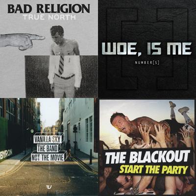 【本日の注目リリース】BAD RELIGION、WOE, IS ME、THE BLACKOUT、VANILLA SKY!インタビュー、特集を公開中!
