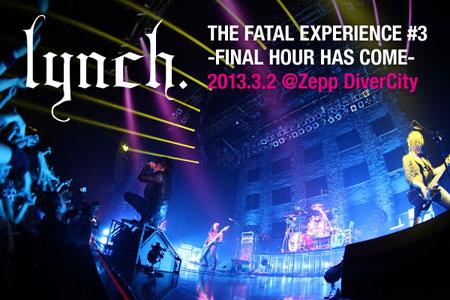 lynch.のライヴ・レポートを公開!シリーズ・ツアー完結編!すべてを出し切った2時間30分の完全燃焼ライヴをレポート!