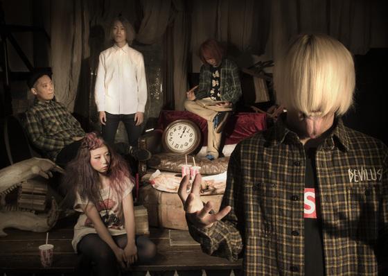 ANGRY FROG REBIRTH、昨日発売の『Dance in the dark』がタワレコ全店J-POPアルバムチャート6位を獲得!発売記念イベントで渋谷がANGRY一色に!