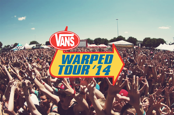Vans Warped Tour 2014、追加アーティスト発表!A SKYLIT DRIVE、THE GHOST INSIDE、I THE MIGHTY、BEARTOOTH、SAVES THE DAYの5組が決定!