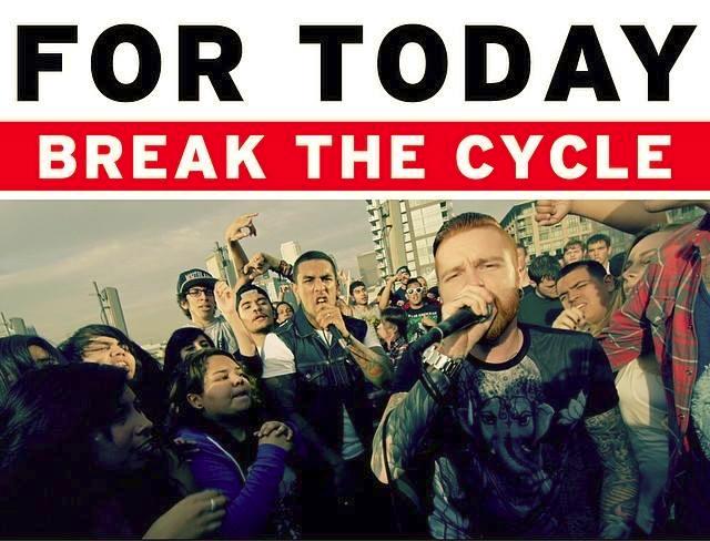 FOR TODAY、最新アルバムよりMatty Mullins(MEMPHIS MAY FIRE)をフィーチャリングした新曲「Break The Cycle」のMVを公開!