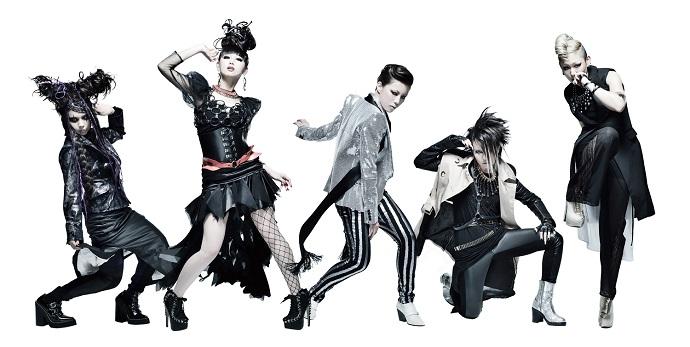 女性5人組ロック・バンドexist†trace、5月にニュー・シングル『スパイラル大作戦』リリース決定&新アーティスト・ヴィジュアル公開!