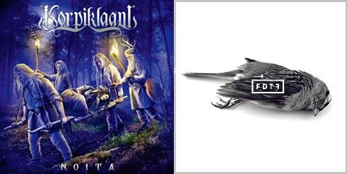 【明日の注目のリリース】KORPIKLAANI、FROM DAWN TO FALLの2タイトル!