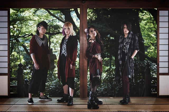 蛇石マリナ率いるHR/HMバンド Mardelas、12/9リリースのメジャー1stシングル表題曲「千羽鶴 -Thousand Cranes-」のMV(Short Ver.)公開!