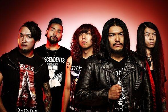 国内メタル/メタルコア・シーン最重要バンド HER NAME IN BLOOD、4/14に渋谷clubasiaで開催されるWAGE WARの来日ツアー公演に出演決定!