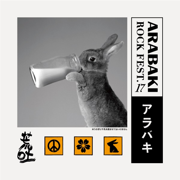 """ARABAKI ROCK FEST.17""、第4弾出演アーティスト&日割り発表!"