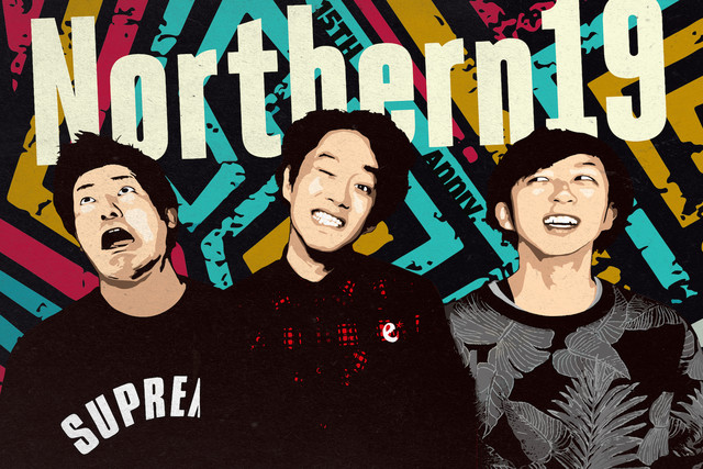 Northern19、5月より開催のレコ発ツアー前半戦ゲストにHEY-SMITH、GOOD4NOTHING、KNOCK OUT MONKEY、HOTSQUALL、SHIMAら決定!