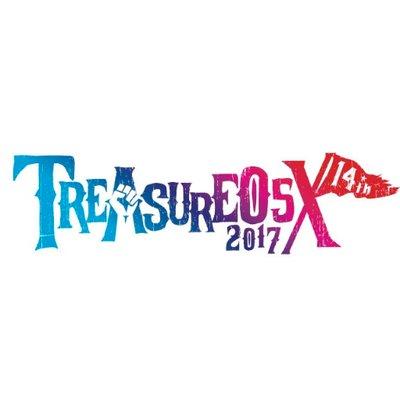 """""""TREASURE05X 2017""""、9/2-3に愛知県蒲郡ラグーナビーチにて開催決定! 第1弾出演アーティストにラスベガス、SiM、フォーリミ、ノーザンら12組!"""