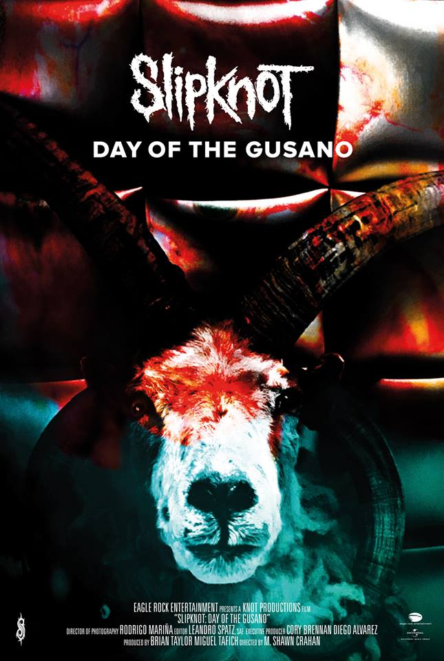 SLIPKNOT、9/6に初のドキュメント・フィルム『DAY OF THE GUSANO』一夜限りのジャパン・プレミア上映決定!