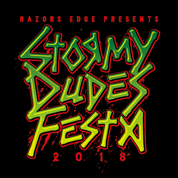 "RAZORS EDGE主催サーキット・フェス""STORMY DUDES FESTA 2018""、第2弾出演者にHAWAIIAN6、OVER ARM THROW、MEANING、RADIOTSら出演決定!"