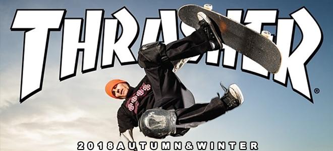 """THRASHER(スラッシャー)からKeith Haringとのコラボ・コーチJKTをはじめ立体感のある""""FLAME""""ロゴを施したパーカーやロンTなどが新入荷!"""