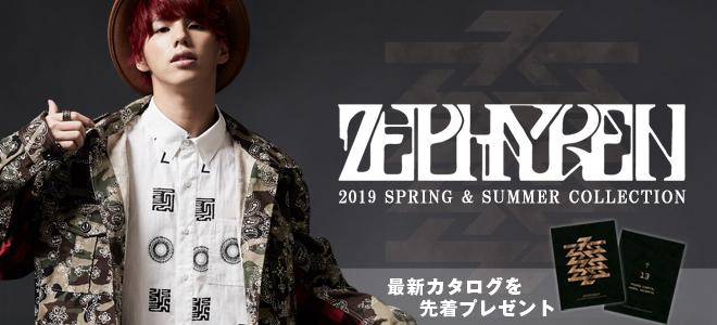Zephyren(ゼファレン)からオリジナル・バンダナを施したL/SシャツやロンT、VIRGO(ヴァルゴ)からは履き心地抜群のデニムが登場!