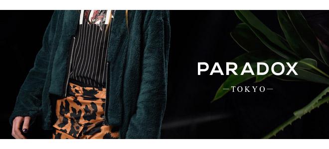 PARADOXを大特集!ブランド定番のグラフィックMA-1をはじめZIPを施したL/SシャツやシースルーTシャツなど新作続々入荷中!