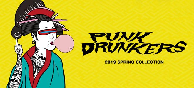 PUNK DRUNKERS(パンクドランカーズ)を大特集!パッチをあしらったデニムJKTをはじめ生地の切り替えが特徴のスウェットやTシャツなど新作続々入荷中!