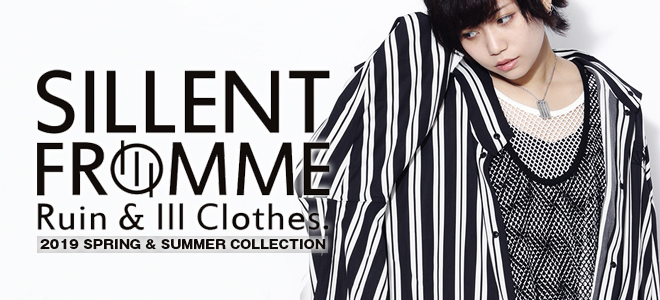SILLENT FROM MEからドレープ感が特徴のハーフ・スリーブ・シャツやTシャツ、MISHKA(ミシカ)からは完売していたアイテムが登場!