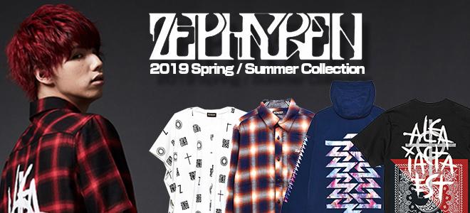Zephyren(ゼファレン)から完売していた総柄L/Sシャツや生地の縫いつけを施したTシャツ、LILWHITE(dot) (リルホワイトドット)からはロンTなどが登場!