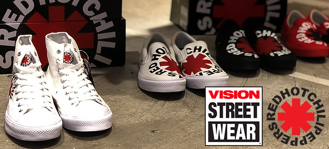 VISION STREET WEAR×RED HOT CHILI PEPPERSコラボ・シューズが緊急入荷&unclodからは完売必至のイヤー・カフなどが登場!
