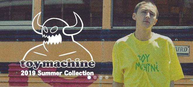 TOY MACHINE(トイ・マシーン)からブランド・キャラクターを全面に配した総柄S/SシャツをはじめタイダイTシャツやタンク・トップなどが新入荷!