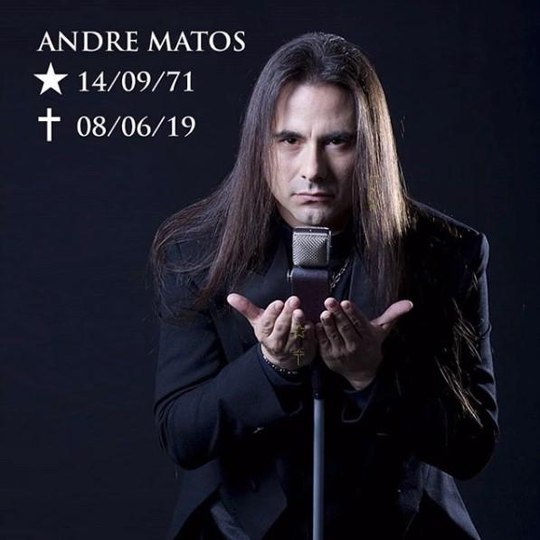元ANGRAのヴォーカリスト Andre Matosが逝去