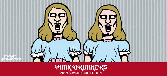 """PUNK DRUNKERS(パンクドランカーズ)を大特集!""""武士""""を刺繍したS/Sシャツをはじめガチャピン&ムックとのコラボTシャツやキャップなど新作続々入荷中!"""