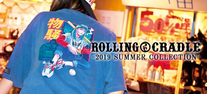 ROLLING CRADLE(ロリクレ)からヴィンテージ・パイルを採用したTシャツやショーツ、SABBAT13からは切り返しが特徴的なTシャツなどが新入荷!