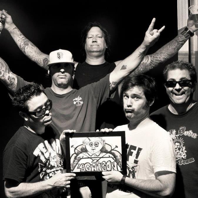 来年3月に来日予定のLAGWAGON、ニュー・アルバム『Railer』より「Surviving California」ライヴMV公開!