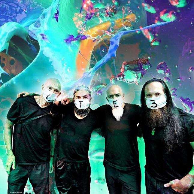 John Petrucci、Jordan Rudess、Mike Portnoy、Tony Levinによる超絶技巧集団 LIQUID TENSION EXPERIMENTの約22年ぶり新作『LTE3』3/24日本先行発売決定!