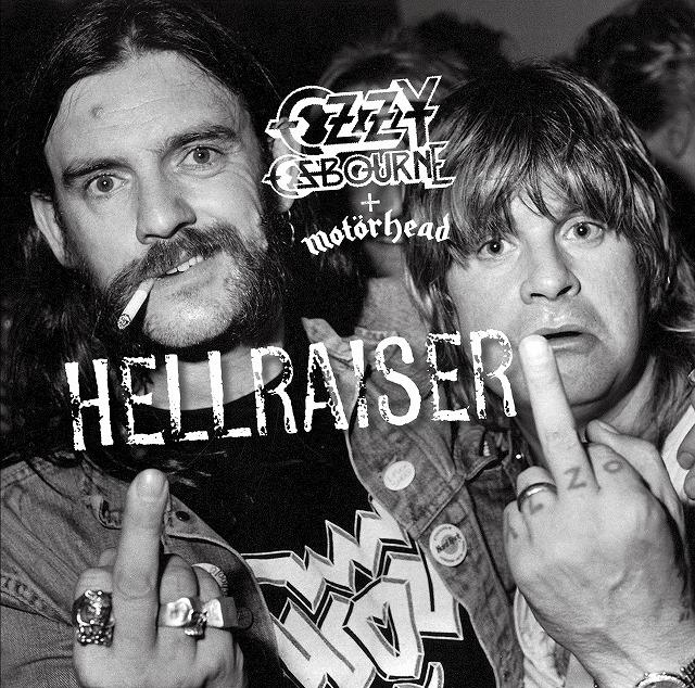 Ozzy Osbourne、名盤『No More Tears』発売30周年記念し亡き親友 Lemmy Kilmister(MOTÖRHEAD)とのマッシュアップ・シングル「Hellraiser」配信リリース!