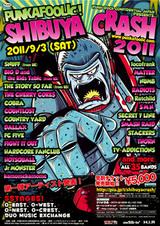 SHIBUYA CRASH 2011第2弾発表!THE CASUALTIES、ANCHORS、EDGE OF SPIRITが追加