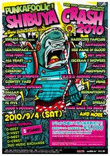 PUNKAFOOLIC! SHIBUYA CRASH 2010開催が決定!