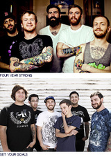 FOUR YEAR STRONG / SET YOUR GOALS来日公演中止。